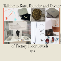 Talking handmade jewellery with Kate from Factory floor jewels