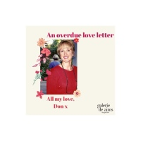 An overdue love letter